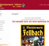 13. Mittelaltermarkt zu Fellbach