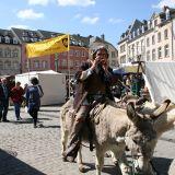 Mittelaltermarkt zu Ostern in Echternach