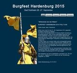 Mittelalterliches Burgfest auf der Hardenburg