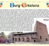 Mittelalterlicher Advents Markt auf Burg Erkelenz