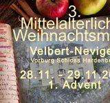 3. Mittelalterlicher Weihnachtsmarkt