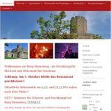 Mittelalterfest auf der Burg Steinsberg