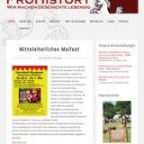 Mittelaltermeile Zeitsprung ins Mittelalter  zum Altstadtfest