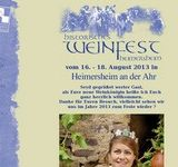 18. Historisches Weinfest