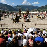 Südtiroler Ritterspiele am Fuße der Churburg zu Schluderns